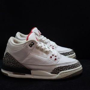 """Air Jordan 3 """"white cement"""""""